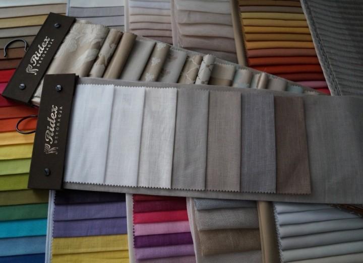 Wprowadzamy do oferty tkaniny firmy Ridex